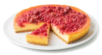CHEESE CAKE FRAGOLE E RIBES